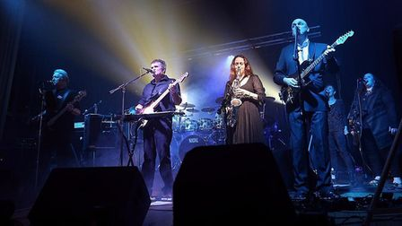 Thetford-based Pure Floyd Show will be performing at Methwold church. Picture: Pure Floyd Show