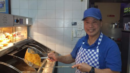 Billy Wong, who ran Billy's Chip Shop but has died aged 66. Picture: Family submit