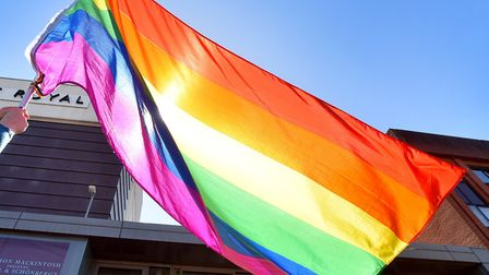 The first ever King's Lynn Pride parade will take place on Saturday, August 18 Picture: Nick Butcher