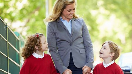 First day of school Picture: Thinkstock