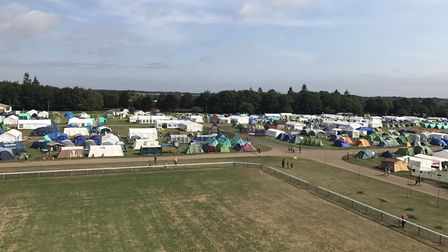 The NORJAM 2018 site on the Norfolk Showground. Picture: VICTORIA PERTUSA