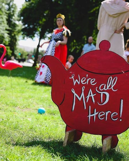 Norwich in Wonderland 2018 comes to Chapelfield Gardens on Saturday (Image: TimWoodPhoto.co.uk)