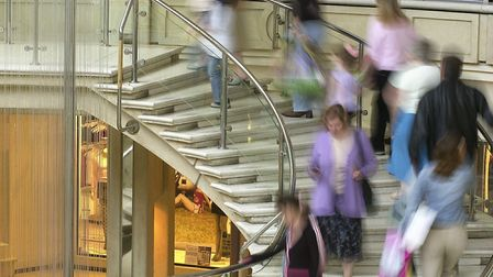 General view inside Castle Mall, Norwich. Picture: Archant.