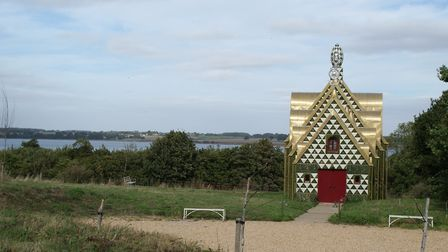 A House for Essex, the Grayson Perry house overlooking the River Stour in Wrabness. Picture: TDC