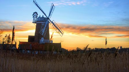 Cley Windmill, Norfolk. Picture: BARRY PULLEN