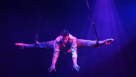 Eric McGill at the Hippodrome Circus Summer Show at Great Yarmouth. Picture: DENISE BRADLEY