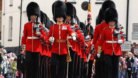 The Band of The Scots Guards will perform at the Thursford Collection. Picture: ABF THE SOLDIERS'