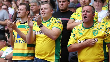 Norwich City fans at Carrow Road will have a big part to play come the Canaries' next two games. Pic