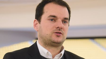 Stuart Webber, Norwich City's sporting director, has revealed the unusual pink changing rooms plan.