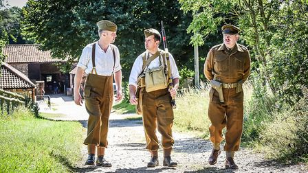 The event in Gressenhall will feature costumed characters from the British and American forces to ex