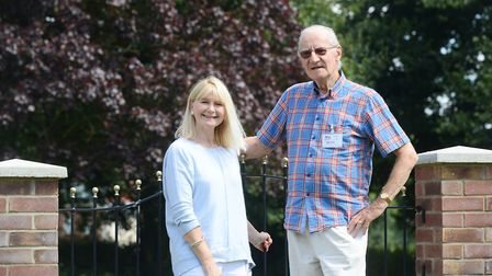 Age Concern Swaffham and District's James Dean and Barbara Lock. Picture: Ian Burt
