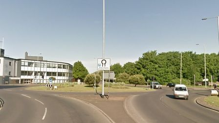 The roundabout of St Crispins Road with Pitt Street. Picture: Google Maps