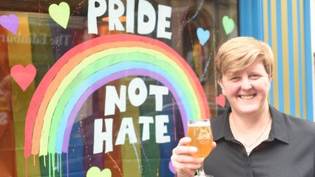 Businesses in King's Lynn are supporting the Pride parade that will be happening in the town on Satu