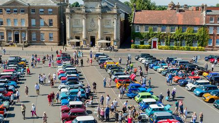 Scenes from the Mini Meet 2017 held in the Tuesday Market Place in King's Lynn. Picture: Matthew Ush