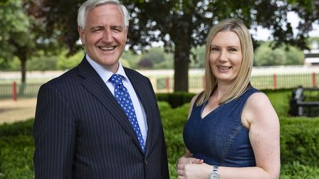 Stephen Williams and Francesca Easter of Ashtons Legal. Picture Dave Richardson