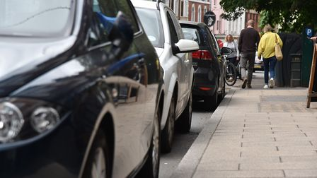 Free on-street parking on evenings and Sundays could be scrapped in Norwich Picture: Sonya Duncan