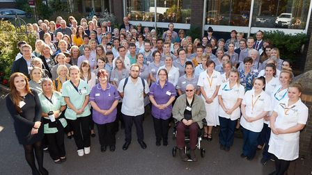 The Nursing Associate Launch in Norwich. Picture: Keiron Tovell