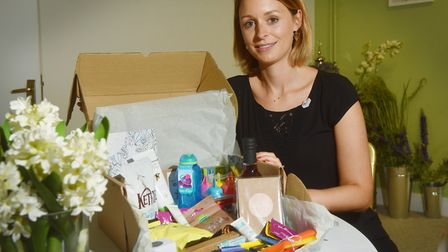 Breast cancer charity Little lifts, which gives gift boxes to patients, has an afternoon tea at Brit