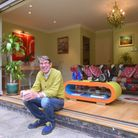 Boguslaw Starzec who has done major renovation works to his bungalow. Picture: Nick Butcher