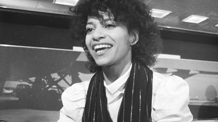 Choreographer and actress Debbie Allen during The Kids from Fame tour in 1983 Picture: Rob C Croe