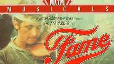 A photograph of a video cover for Fame Picture: ARCHANT ARCHIVE