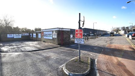 The Mile Cross depot. Picture: ANTONY KELLY