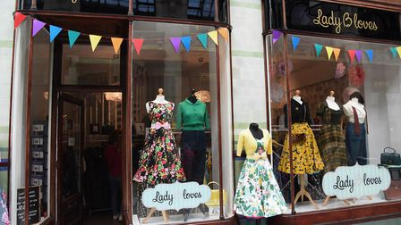 Lady B Loves in the Royal Arcade. Picture: DENISE BRADLEY