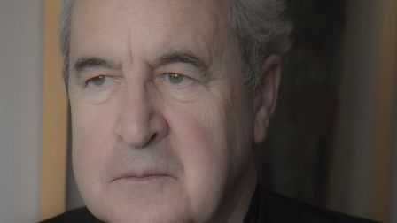 John Banville. 'Its difficult every morning to look at the blank page and think I cant do this. I do