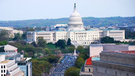 Labour MP Clive Lewis says he plugged Norwich while speaking at the US Congress in Washington. Photo