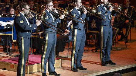 Royal Air Force in Concert at The Royal Festival Hall, London. Photo: Corporal Ben Tritta