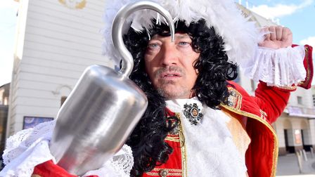 Launch of the Lowestoft Marina Theatre pantomime 'Peter Pan' staring EastEnders star, Sid Owen a C