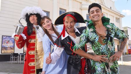 Launch of the Lowestoft Marina Theatre pantomime 'Peter Pan' staring Sid Owen as Hook. Anthony Sah