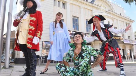 Launch of the Lowestoft Marina Theatre pantomime 'Peter Pan' staring Sid Owen as Hook.Anthony Sahot