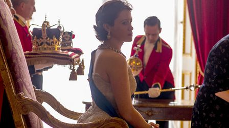 Claire Foy as The Queen in the Netflix series The Crown