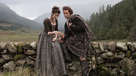 Caitriona Balfe and Sam Heugan in Outlander Photo: Channel 4