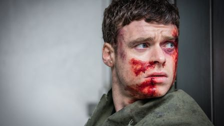 Richard Madden as David Budd in series finale of Bodyguard. (C) World Productions - Photographer: So