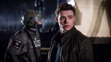 Richard Madden in BBC series Bodyguard. Picture: BBC/WorldProductions/Sophie Mutevelian