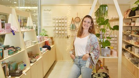 Lisa Angel shop opens in Intu Chapelfield. Lisa pictured in the new shop.Picture: ANTONY KELLY