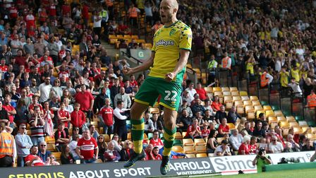 Teemu Pukki rifled Norwich City to a 1-0 win over Middlesbrough Picture: Paul Chesterton/Focus Image