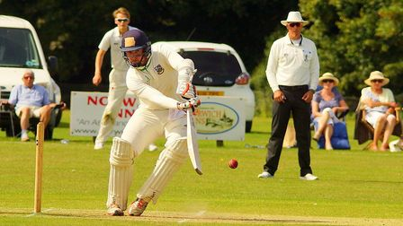 WIll O'Donnell played an important innings for Norwich in the EAPL play-off Picture: Tim Ferley