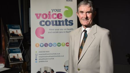 New Healthwatch chairman, David Edwards (pictured). Picture: ANTONY KELLY