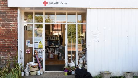 The Red Cross Shop at Wymondham. Picture: DENISE BRADLEY