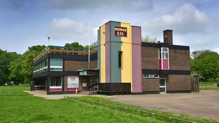 Norwich Rugby Club's current clubhouse, located at Beeston Hyrne. Picture: ANTONY KELLY