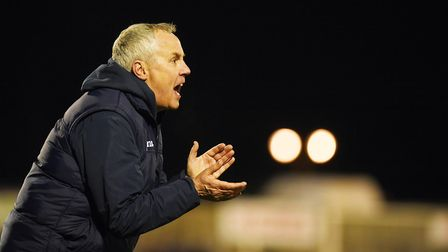 Ian Culverhouse has quit as manager of Grantham Town. Picture: Archant