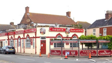 One pub fewer in Great Yarmouth: the Cask and Craft - formerly the Apollo Tavern on Northgate Street