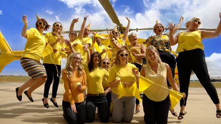 East Anglian Air Ambulance (EAAA) has launched a Get Up and Go Yellow day this Thursday (September 1