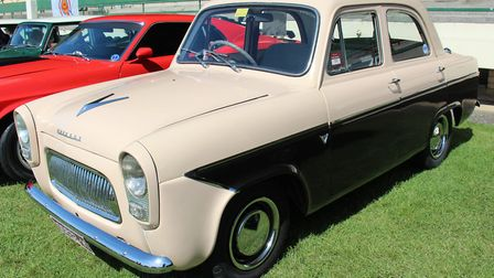 A Ford Prefect 107E similar to Graham Coe's first car. Picture: Sicnag/ Wikimedia Commons