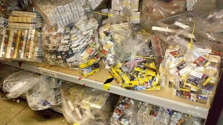 210,760 illegal cigarettes seized in Kings Lynn Photo: Norfolk County Council