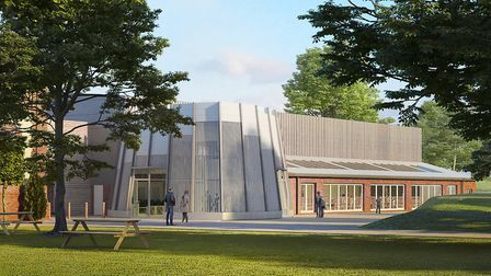 An artist's impression of the planned interactive children's experience (Ice).at Thursford. Picture: