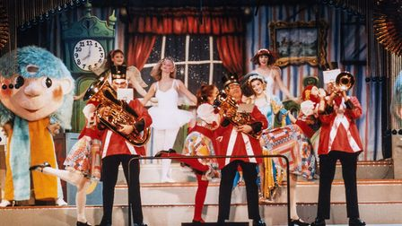 A scene from the 1995 Thursford Christmas Spectacular. Picture: Thursford Library